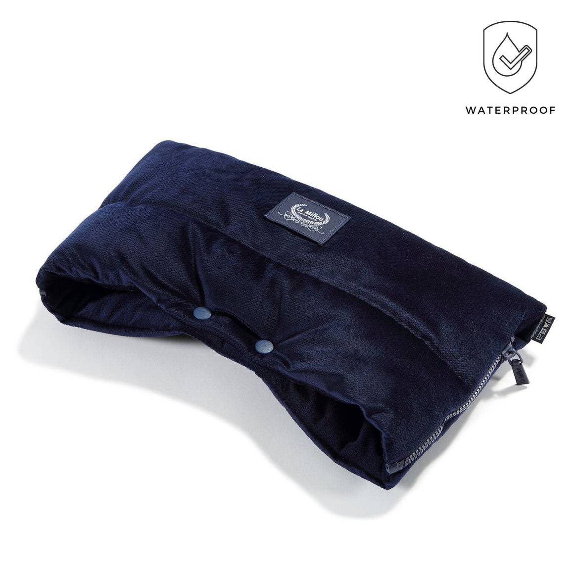 ASPEN WINTERPROOF MUFF - Velvet Royal Navy