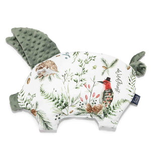 SLEEPY PIG baby pillow - Forest | Khaki