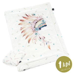 BEDDING WITH FILLING 2in1 vuodevaatesetti (koko M) - Navaho Quartz