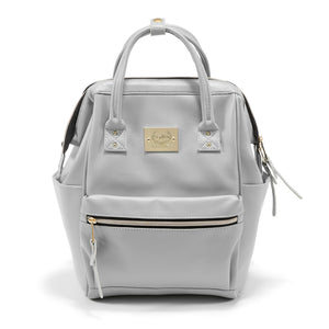grey nursery backpack
