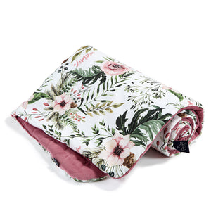 MEDIUM BLANKET peitto - Wild Blossom | Velvet Mulberry
