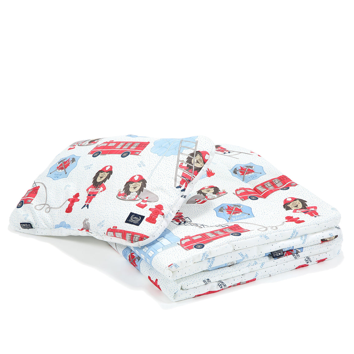 BEDDING WITH FILLING 2in1 vuodevaatesetti (koko M) - Braveheart Lion