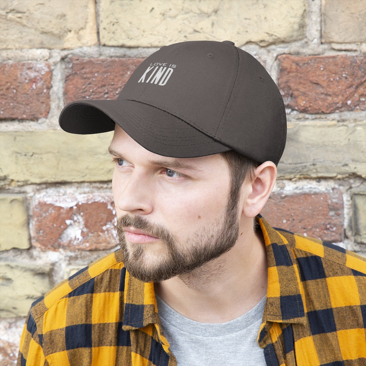 Love is Kind Unisex Twill Hat
