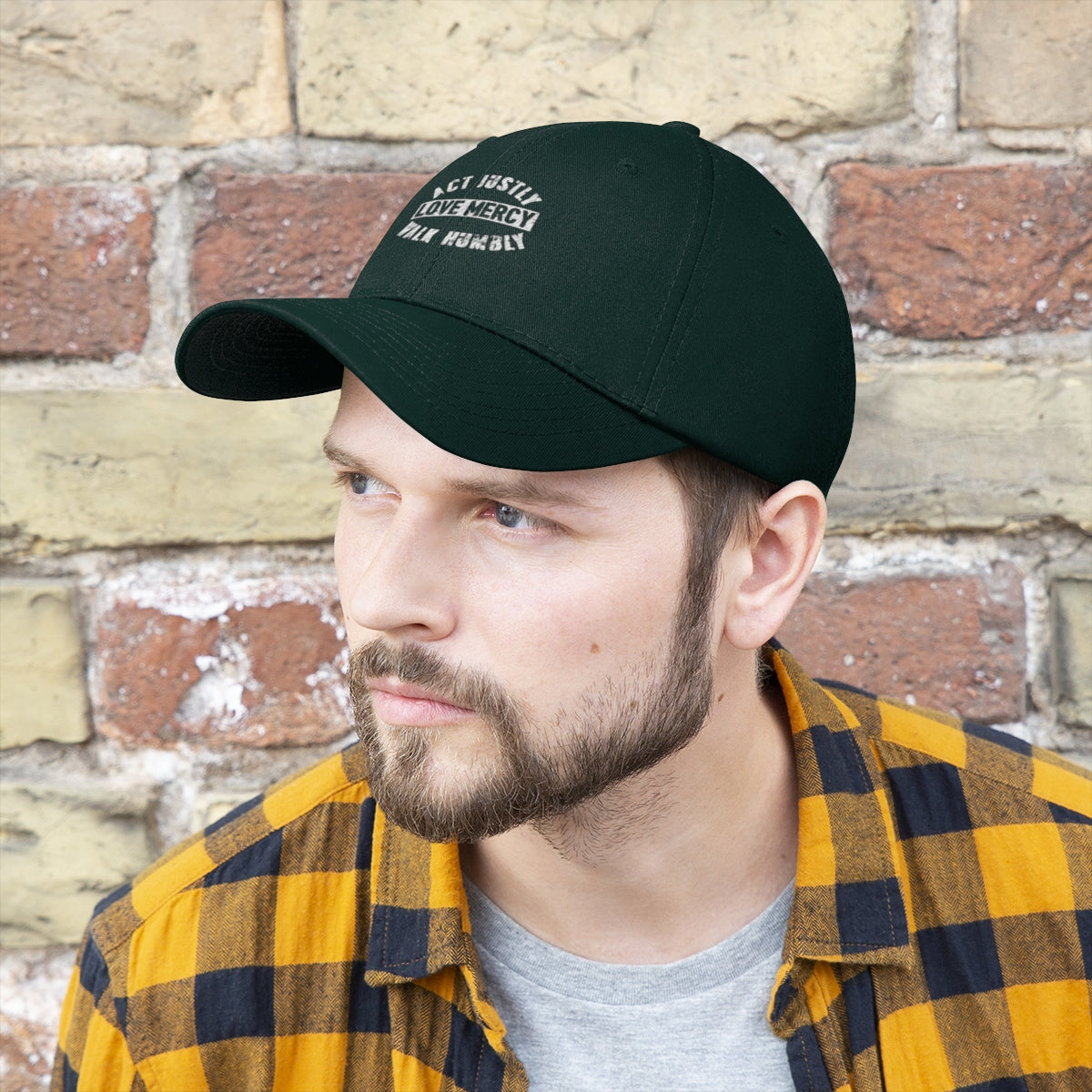 Act Justly Unisex Twill Hat
