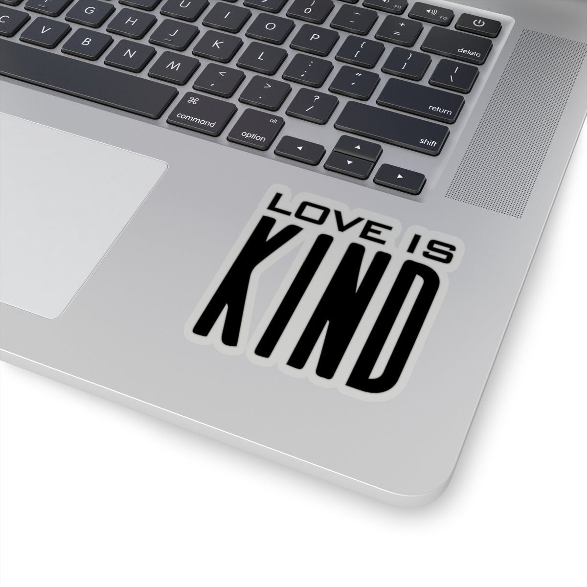 Love is Kind Kiss-Cut Stickers