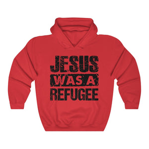 Jesus was a Refugee Unisex Heavy Blend™ Hooded Sweatshirt