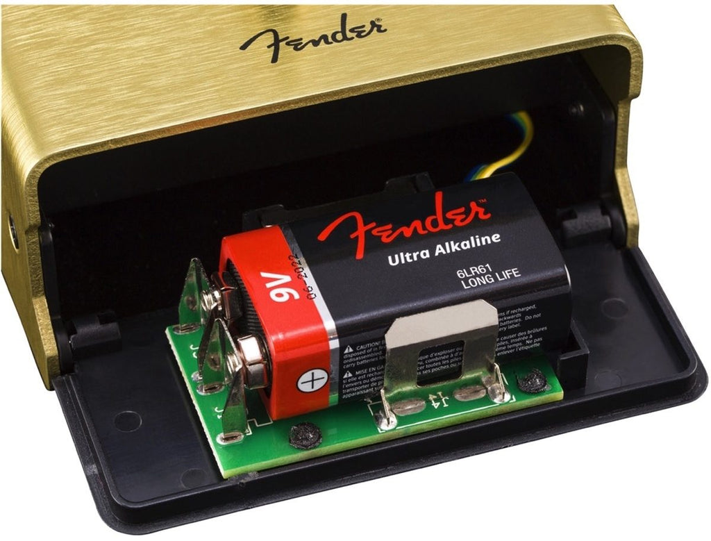 Pedal Efecto Fender para Guitarra Electrica Pugilist Distortion