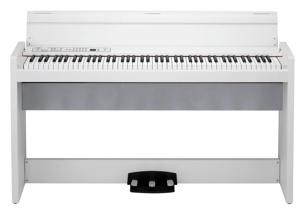 Piano Digital Korg LP380 Con Stand Y 3 Pedales - En Blanco-PIANOS ROCKS