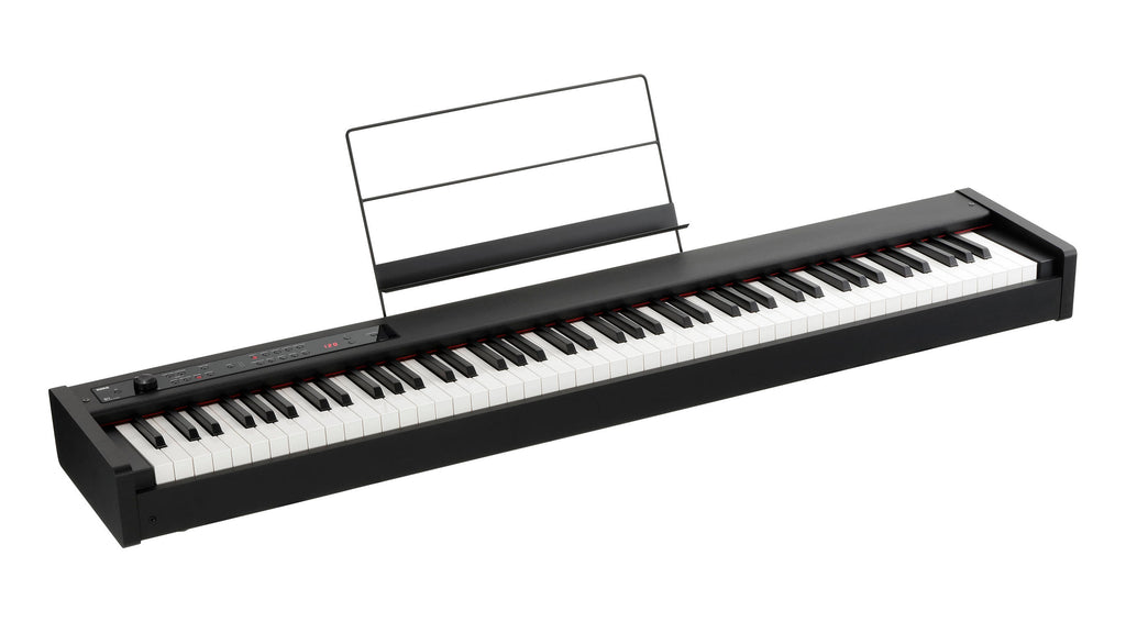 Piano Digital Korg D1 de 88 Teclas en Negro-PIANOS ROCKS