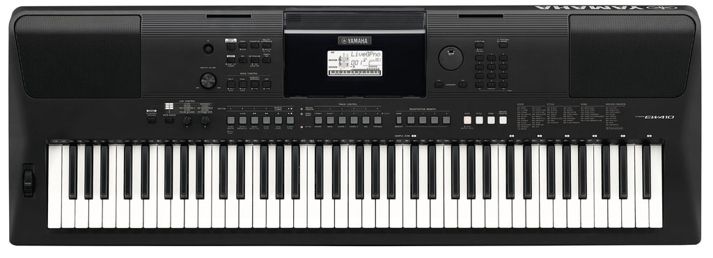 Teclado Yamaha Psrew410 De 76 Teclas Sensitivo-PIANOS ROCKS