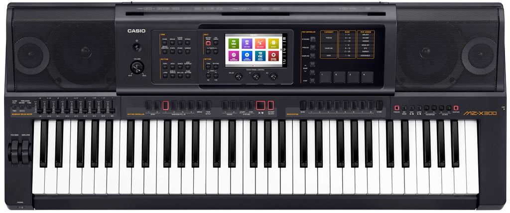 Sintetizador Casio Mz-x300 Workstation Pantalla Táctil-PIANOS ROCKS