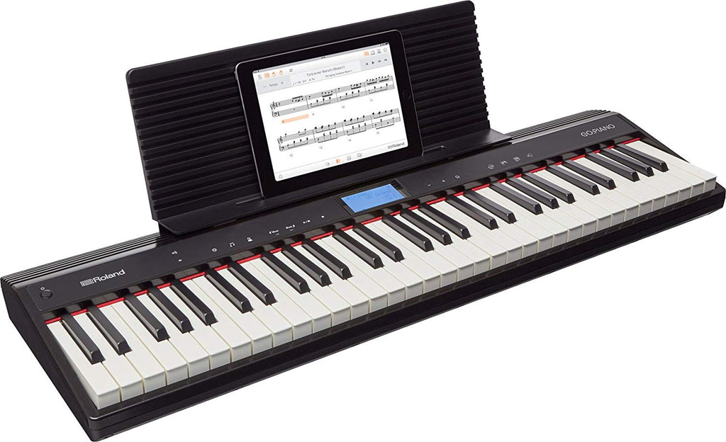 Roland Go61 Piano Teclado 5 Octavas Sensitivo Bluetooth-PIANOS ROCKS