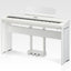 Piano Digital KAWAI ES8W Blanco 88 Teclas Hammer-PIANOS ROCKS