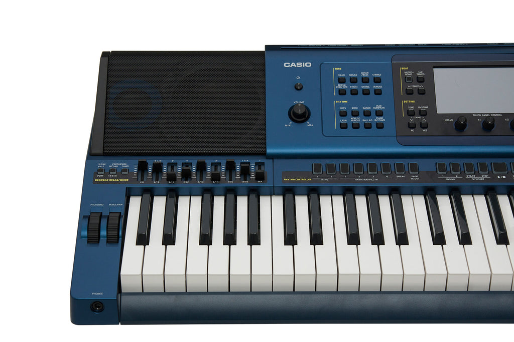 Sintetizador Casio Mz-x500 Workstation 61 Teclas Pantalla Tactil-PIANOS ROCKS