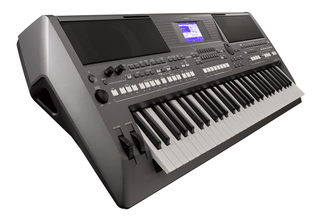 Teclado Psr s670 Yamaha 61 Teclas Workstation Sensitivo-PIANOS ROCKS