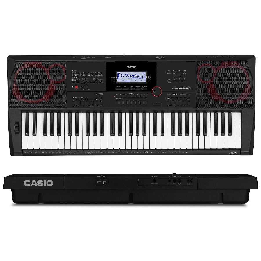 Teclado Casio Ct-x5000 Sensitivo 61 teclas-PIANOS ROCKS