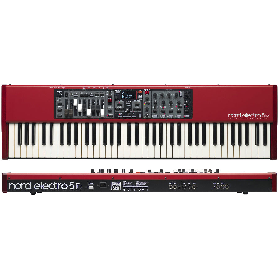 Piano Sample Sintetizador Nord Electro 5d 73-PIANOS ROCKS