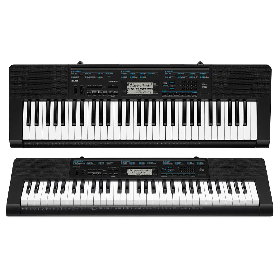 Teclado Casio No Sensitivo 61 Teclas CTK2300-PIANOS ROCKS