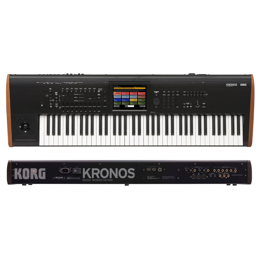 Sintetizador Korg Kronos2 de 73 Teclas Workstation Sampler-PIANOS ROCKS