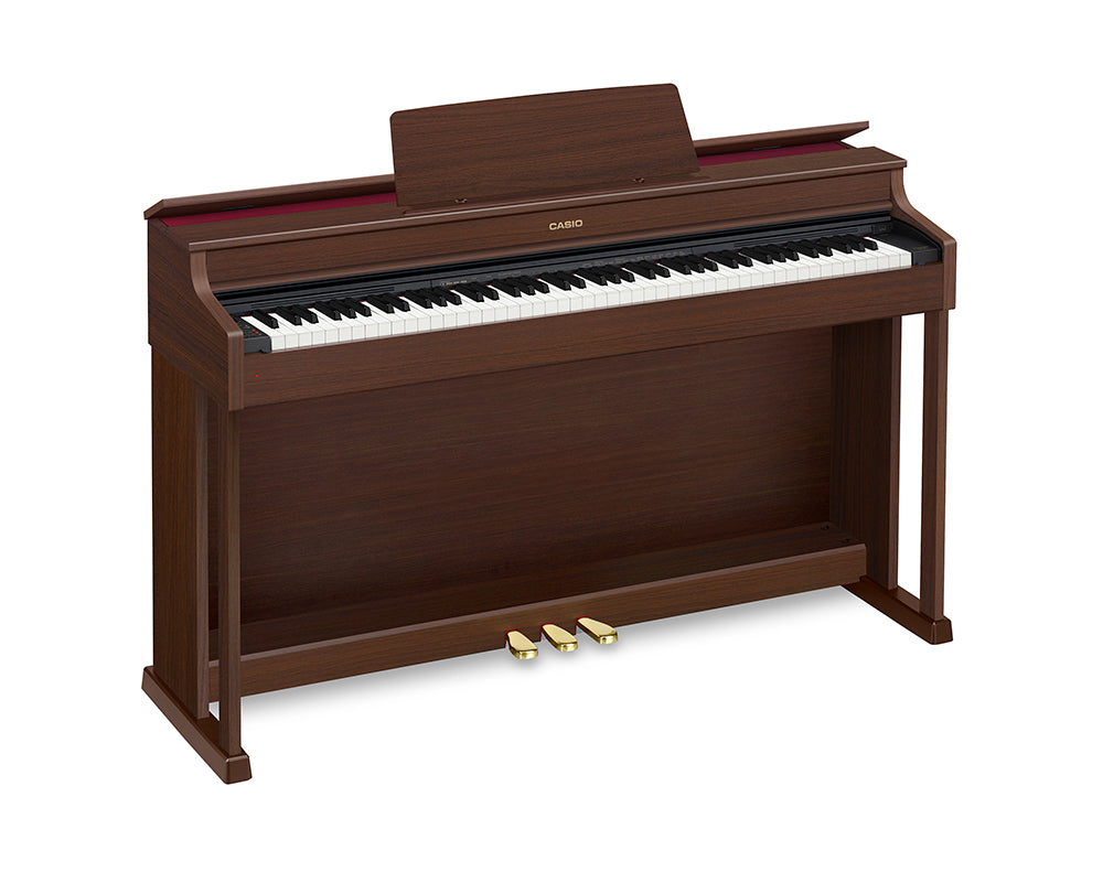 Piano Digital Casio Celviano Ap470 Bn Con Mueble 88 Notas-PIANOS ROCKS