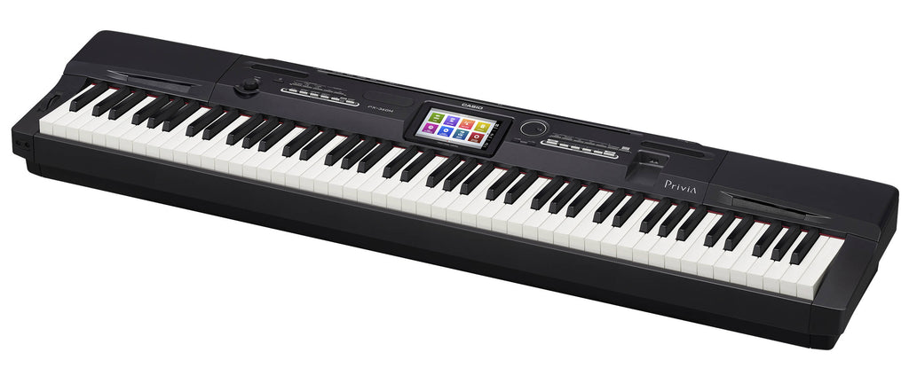 Piano Digital Casio Privia Px360mbk 88 Teclas Acc Martillo-PIANOS ROCKS