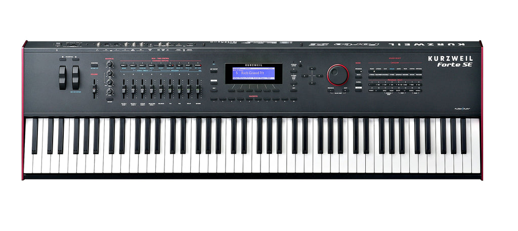 Kurzweil FORTE SE Teclado Workstation-PIANOS ROCKS