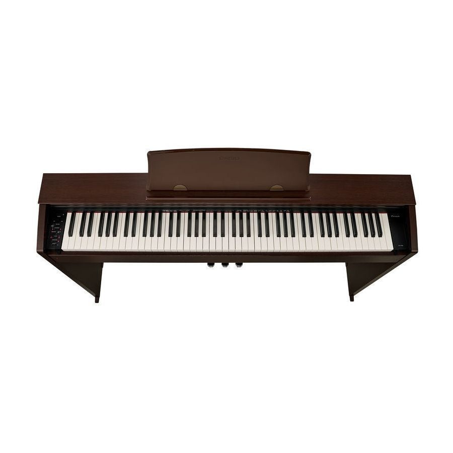 Casio Piano Digital Privia Con Mueble Y 3 Pedales Px770BN-PIANOS ROCKS