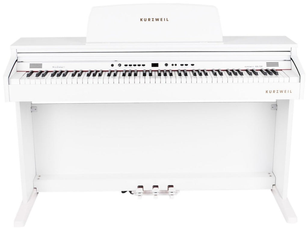 Piano Digital Kurzweil Ka130wh 88 Teclas Blanco-PIANOS ROCKS