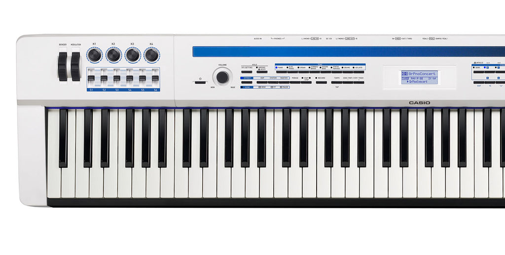 Casio Piano Digital Privia 88 Notas Con Secuenciador PX5SWE-PIANOS ROCKS