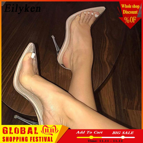 Clear  Transparent Pumps