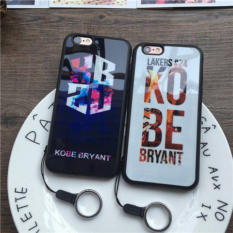 New Ultra-thin Fashion Trend NBA Basketball Kobe Bryant 24 For Apple iPhone Case