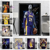Oil Painting Gift Collection Kobe Bryant Star Artwork Poster