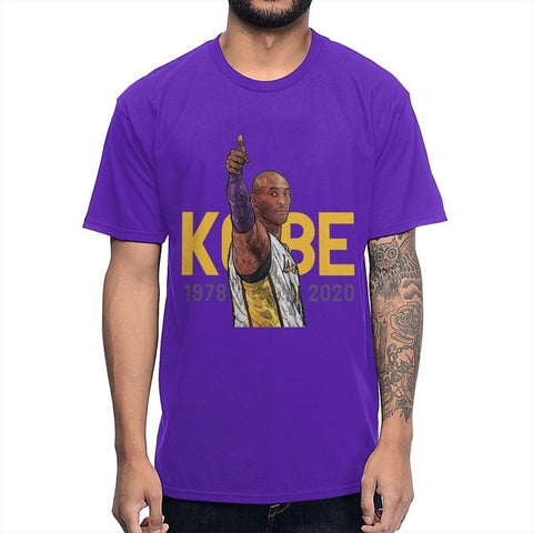 Rip Kobe Bryan T Shirt New Arrival O-neck Cotton T-shirt