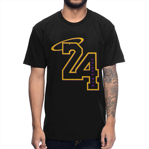 Simple Design 100% Cotton Kobe Bryant RIP T Shirt