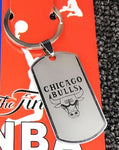 2pcs Kobe Bryant Basketball Sports Stainless Steel Key Chain