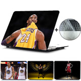 Kobe Curry James Laptop Case For Apple MacBook Touch ID A1932,Air 13 Pro Retina 11 12 13 15 Pro 13.3 15 Touch Bar+Keyboard Cover