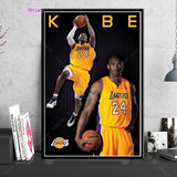 NT854 Poster Print Kobe Bryant Legend Sport Star photo Printing Oil Painting Wall Art Canvas Picture Living Home Room Decor