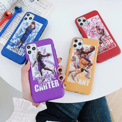 Basketball star Mamba Kobe  phone case for iphone