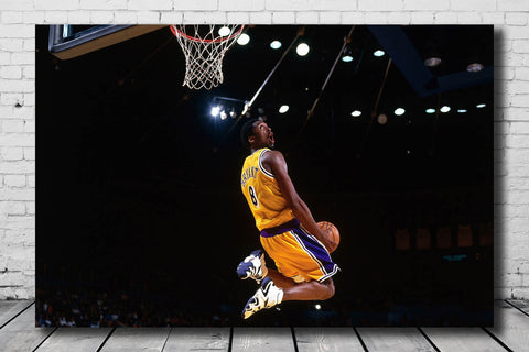 Top Basketball Star Kobe Bryant Canvas Poster Wall Print 14x21 24x36