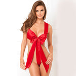 She's a Gift Sexy Red Women Lingerie Sleepwear