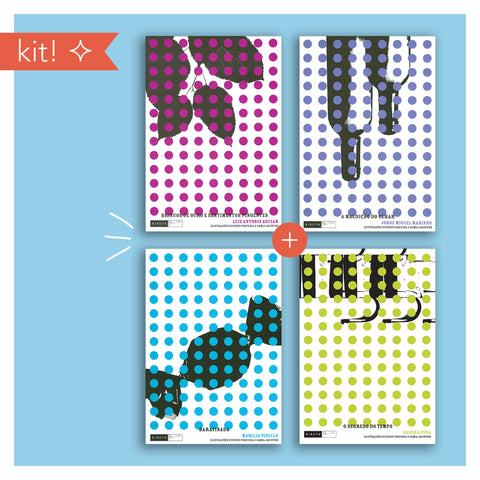 Kit: Leituras descoladas