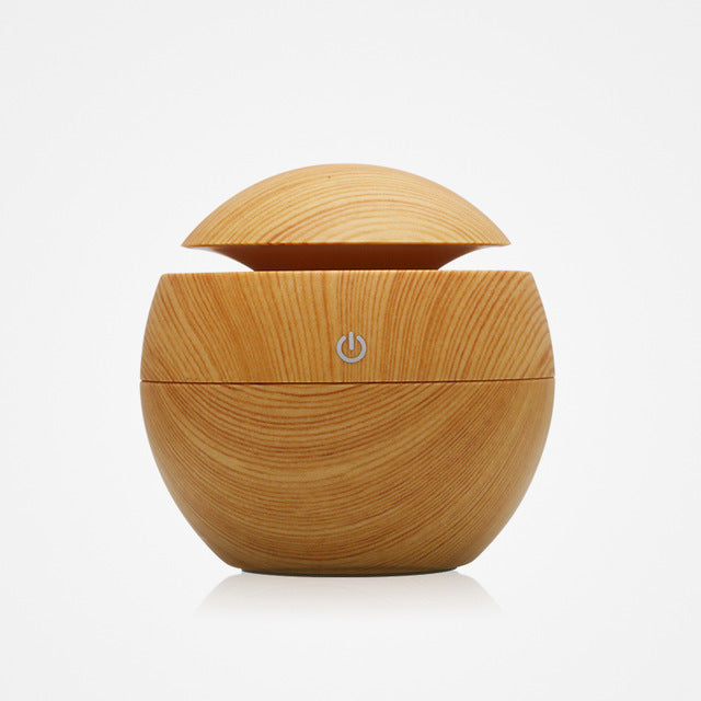 130ml USB Essential Oil Diffuser with 7 Color LED Light