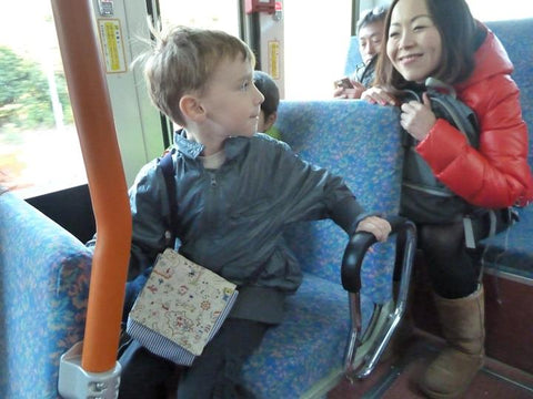 pirate bag on the bus