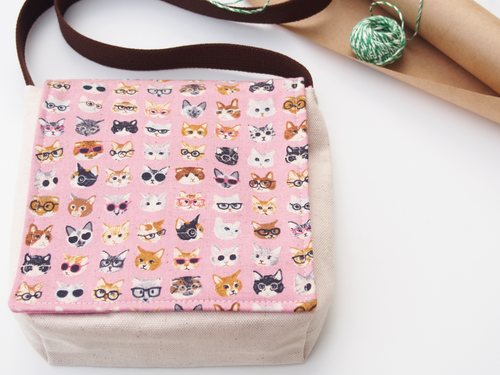The Cats of Fashion Week Messenger Bag for Toddlers