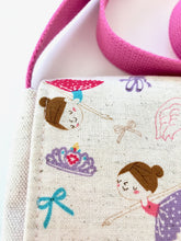 Pink Ballerina Princess Toddler & Preschool Messenger Bag