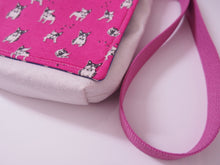 French Bulldog Pink Toddler & Preschool Messenger Bag