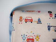 Robot Messenger Bag