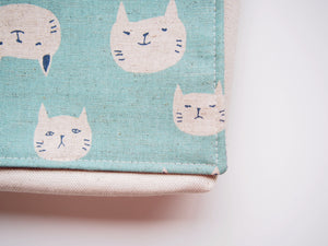 Blue Cats Toddler Messenger Bag