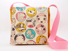Panda Cat Dog Animal Friends Toddler Messenger Bag