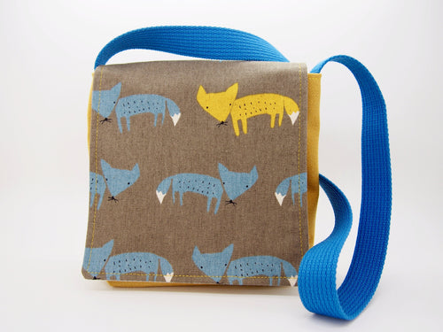 Basil the Fox Toddler Messenger Bag